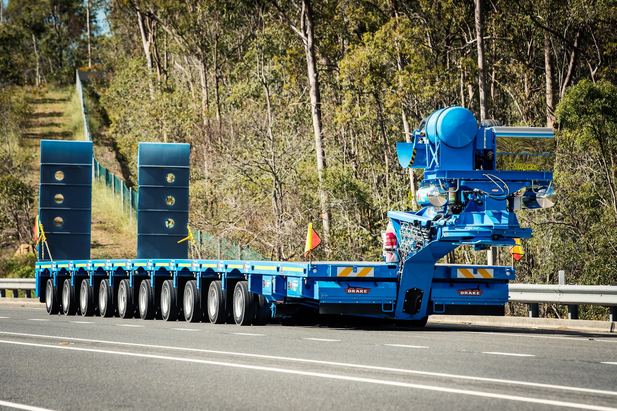 "10×8 steerable for rio tinto painted ""Beyond Blue"""