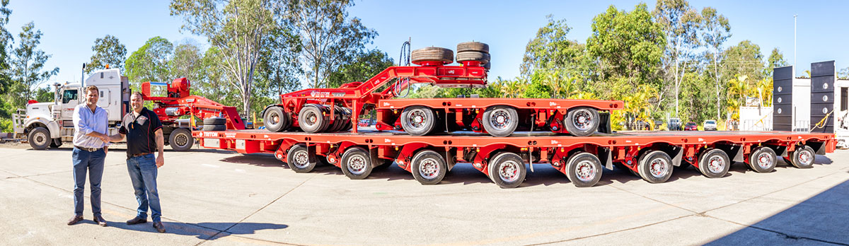 Steerable Low Loader