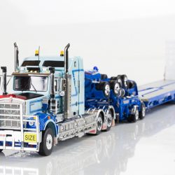 Kenworth C509 with Drake 2x8 Dolly and 5x8 Swingwing Trailer McAleese
