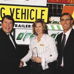O'Phee trailer's Co Director, Sharon O'Phee, has been elected the first female chair of the CVIAQ.