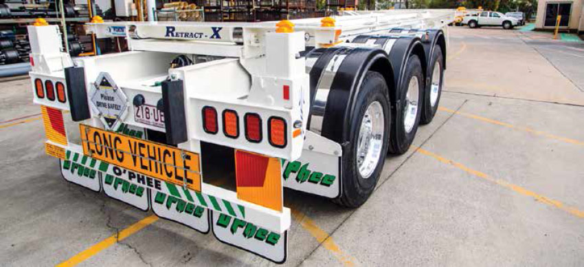 OPhee Trailers introduces Retract X