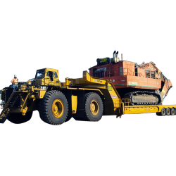 Mine site trailer